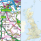 Great Britain Road Map Atlas and Gazetteer
