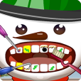 Product Image. Title: Snowman Dentist Office Salon Dress Up Game - Fun Christmas Holiday Games for Kids, Girls, Boys