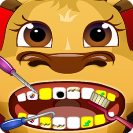 Santa's Reindeer Dentist Office Salon Dress Up - Fun Christmas Holiday Games for Kids, Girls, Boys