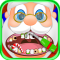 Christmas Dentist Office - Santa