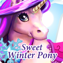 Sweet Winter Pony