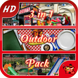 Outdoor Pack - 3 in 1 - Hidden Object Game