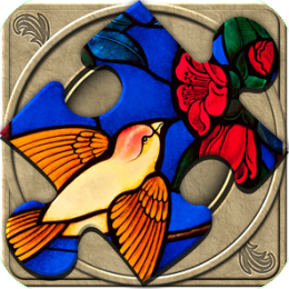 FlipPix Jigsaw - Stained Glass