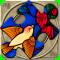 FlipPix Jigsaw - Stained Glass