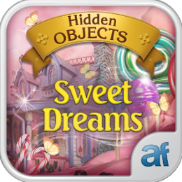 Hidden Objects Sweet Dreams & 3 puzzle games
