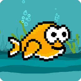 Flashy Fish! - Flappy Fish of the Sea Game
