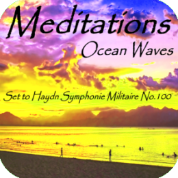 Relaxation - Ocean Waves set to Classical Music (Symphonie Militaire No.100)