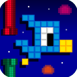 Dippy Chick - Flappy Bird Pixel Game