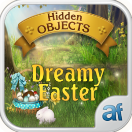 Hidden Objects Dreamy Easter & 3 puzzle games