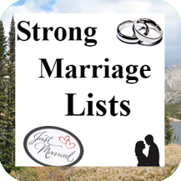 Strong Marriage Lists