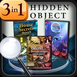 Hidden Object - Secrets Combo Pack - 3 Games In 1