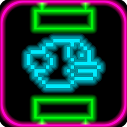 Flappy Neon Bird - A Glowing Flappy Adventure!