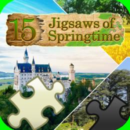 15 Jigsaws of Springtime