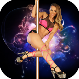 Liz M's Sexy Pole Dancing for Beginners - dance fitness workout for women