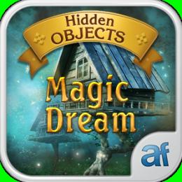 Hidden Objects Magic Dream & 3 puzzle games