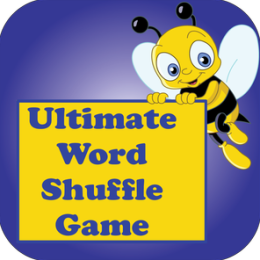 Kids Puzzle Words Shuffle Game