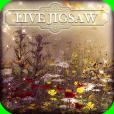 Product Image. Title: Live Jigsaws - Summer Garden
