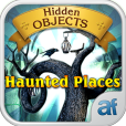 Product Image. Title: Hidden Objects Haunted Places & 3 puzzle games