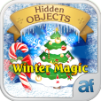 Product Image. Title: Hidden Objects Winter Magic & 3 puzzle games