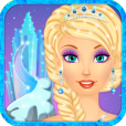 Product Image. Title: Snow Queen Salon - Dress Up and Makeup Makeover