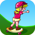 Product Image. Title: Action Scooter Girl
