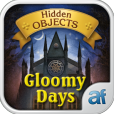 Product Image. Title: Hidden Objects Gloomy Days & 3 puzzle games
