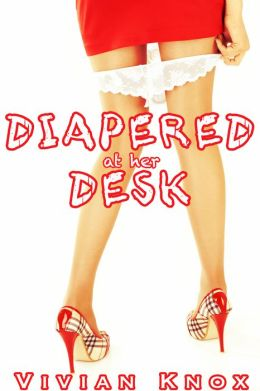 Diapered On Her Desk (ABDL, diapers, ageplay, taboo)