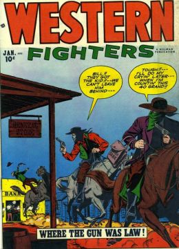 Western Fighters Number 2 Western Comic Book