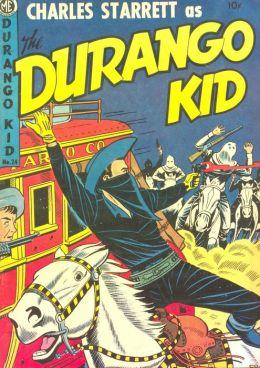 DURANGO KID Number 24 Western Comic Book