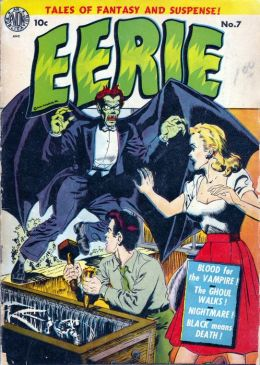 Eerie Number 7 Horror Comic Book