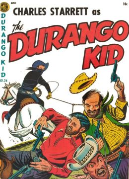 DURANGO KID Number 26 Western Comic Book
