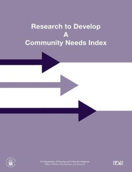 Research to Develop A Community Needs Index