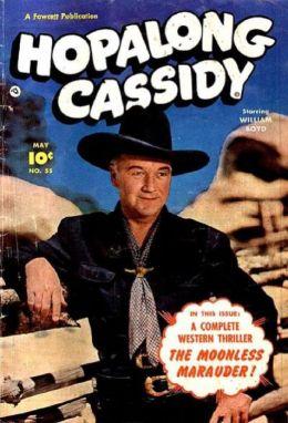Hopalong Cassidy Number 55 Western Comic Book