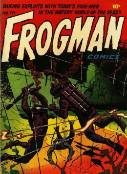 Frogman Number 1 War Comic Book