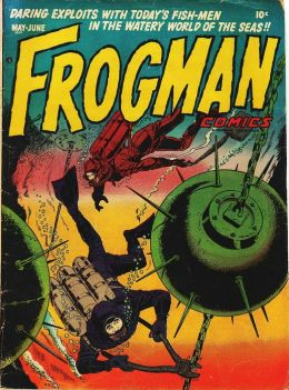 Frogman Number 2 War Comic Book