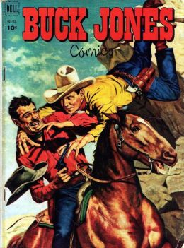 Buck Jones Number 8 Western Comic Book