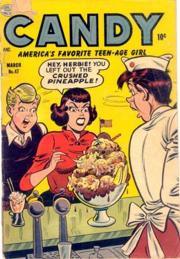 Candy Number 47 Teen Comic Book