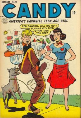 Candy Number 46 Teen Comic Book