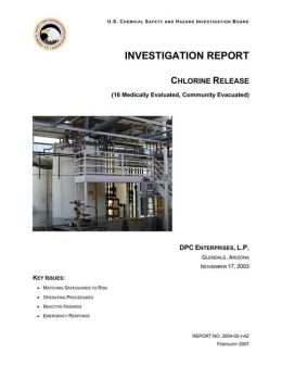 INVESTIGATION REPORT: CHLORINE RELEASE