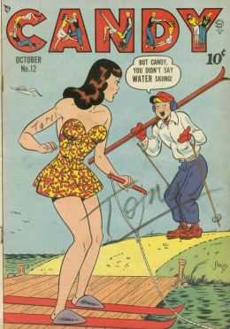 Candy Number 12 Teen Comic Book