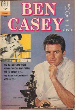 Ben Casey Number 1 Medical Comic Book