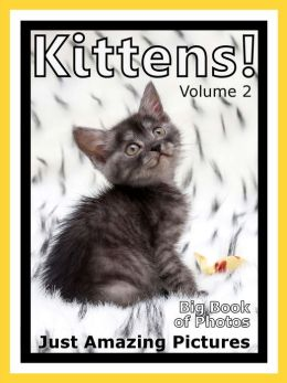 Just Kitten Photos! Big Book of Photographs & Pictures of Baby Cats & Cat Kittens, Vol. 2