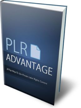PLR Advantage 30 proven ways to use private label rights content