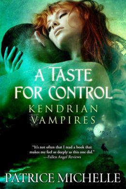 A Taste for Control, Vampire Romance (Book #3)