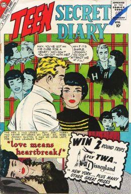 Teen Secret Diary Number 4 Love Comic Book
