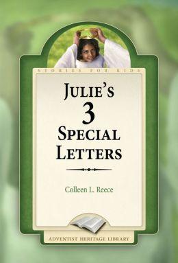 Julie's 3 Special Letters