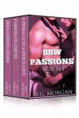 Book Cover Image. Title: BBW Passions Box Set, Author: M.G.  Morgan