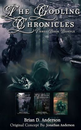The Godling Chronicles: Books 1-3 Bundle