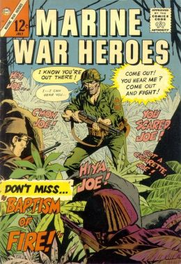 Marine War Heroes Number 14 War Comic Book