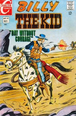 Billy the Kid Number 63 Western Comic Book